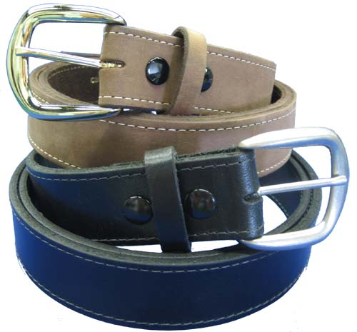 Casual Leather Belt Extended Sizes