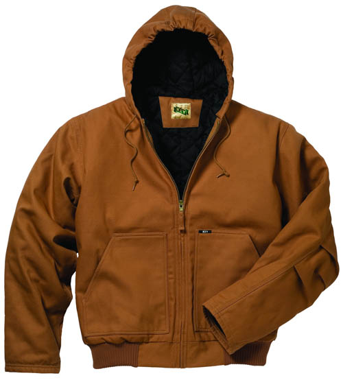 Key Workwear Insulated Hooded Duck Jacket