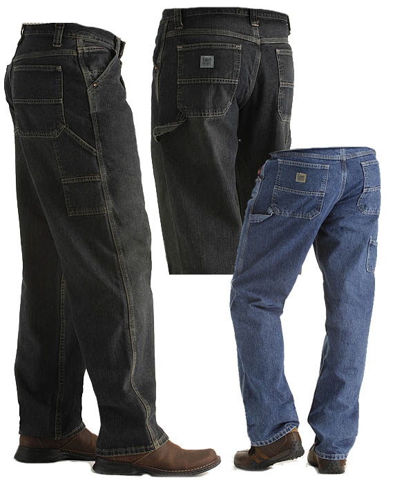 Lee Dungarees Carpenter Loose Straight Jean
