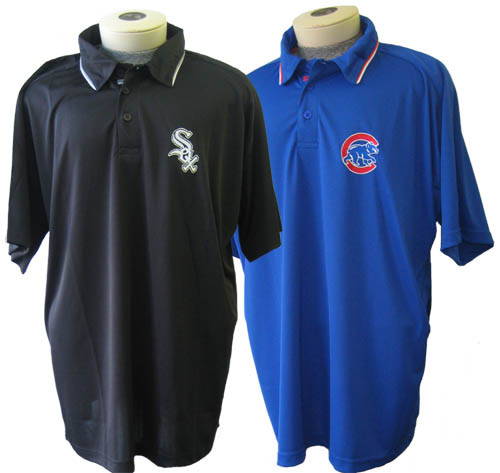 Chicago Cubs or Sox Moisture Management Polo