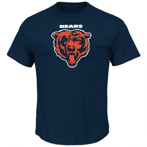 Chicago Bears Basic Navy Team T-shirt