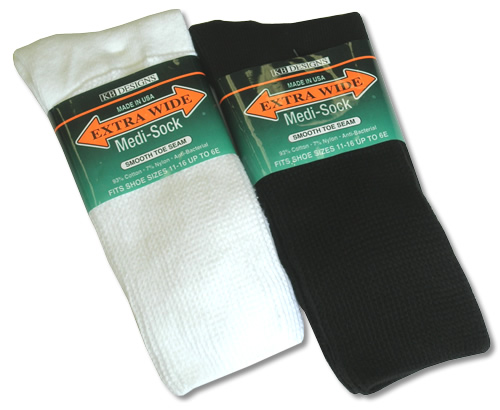 Medical Extra Wide Comfort Athletic Sock