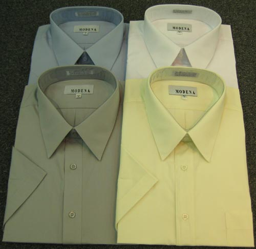 Modena Short Sleeve Dress Shirt