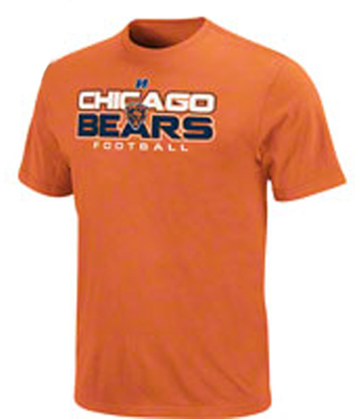 Chicago Bears Orange T-shirt