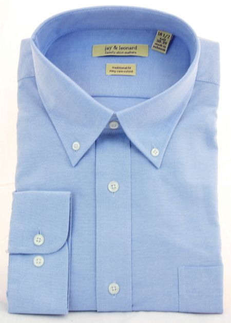 Modena Long Sleeved Oxford Dress Shirt