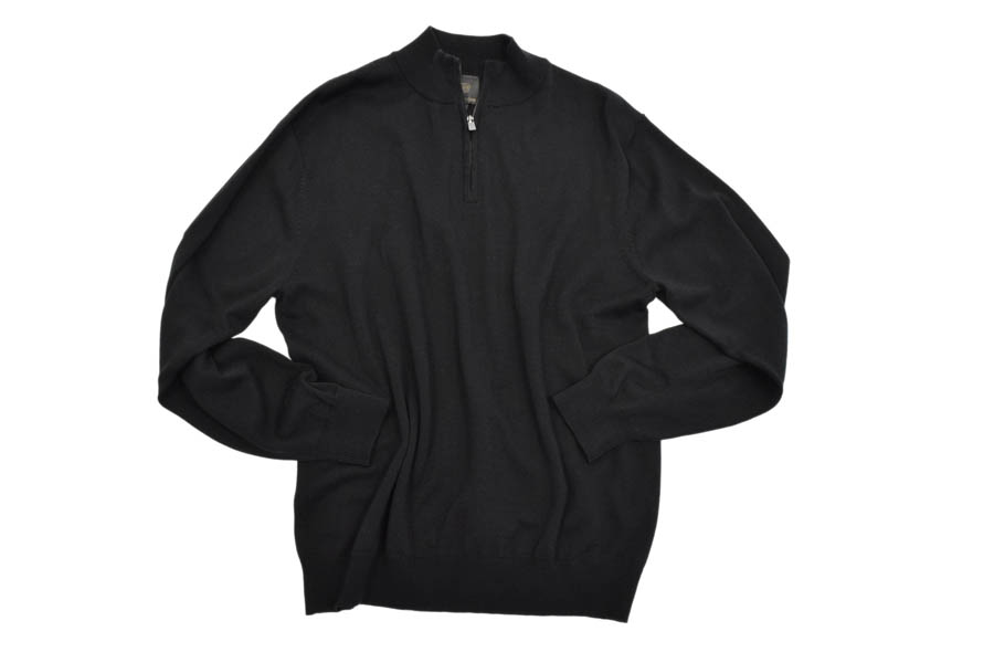 1/4 Zip Sweater -Long Sleeved-
