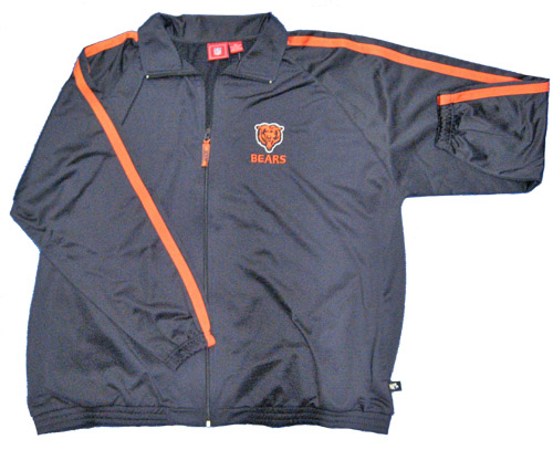 Chicago Bears Trek Full Zip Jacket